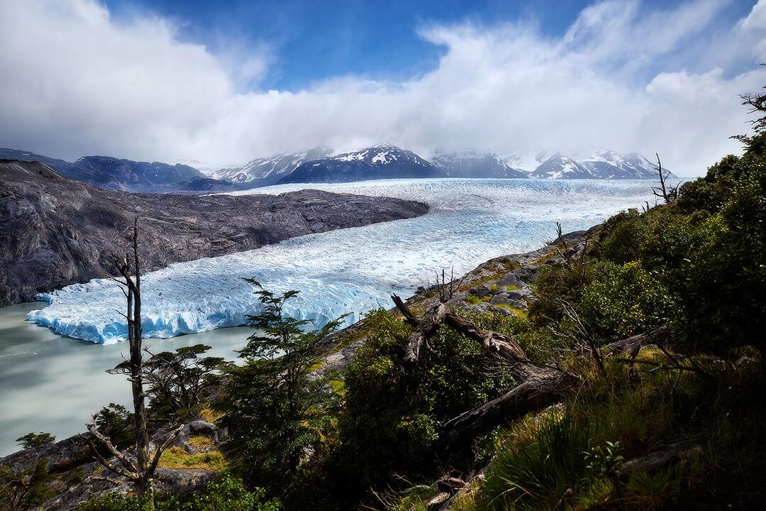 Patagonia - zamarznięta rzeka